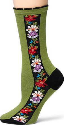 Ozone Womens Nordic Stripe Socks,Anis,Medium