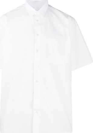 Raf Simons Camisa com estampa de logo - Branco