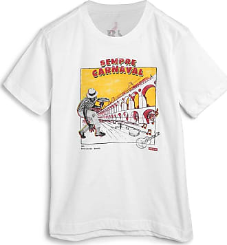 Reserva Mini Camiseta Reserva Mini Infantil Carnaval Branca