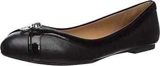 Armani Patent Trim Ballet Flat, Black 40 (US Womens 10) M