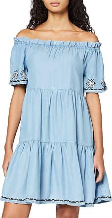 Pepe Jeans London Womens Dress, Blue (Blue 551), Large