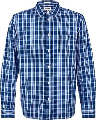 Skjorter i Blå fra Wrangler til Menn | Stylight
