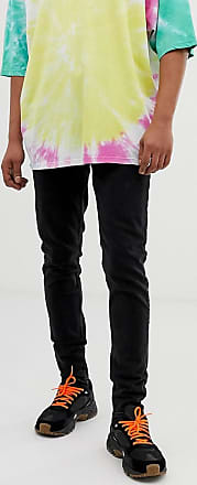 Weekday Cone slim tapered jeans in tuned black