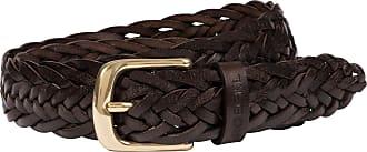 Roeckl Braided Buffalo Belt - mocca - 100