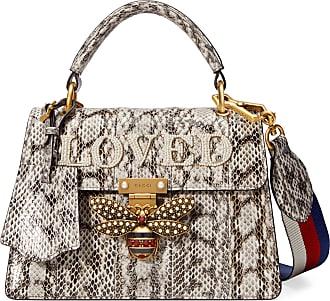 Gucci Sac à main Queen Margaret petite taille en peau de serpent 866bfd35d41