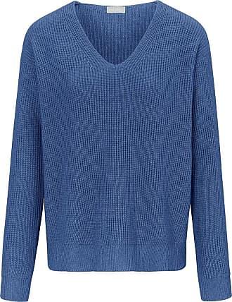 include V-Pullover include blau