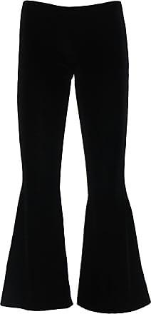 Insanity Black Gothic Velvet Flare Bottom Trouser. (M/L)