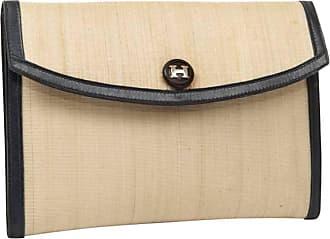 002847f22632f Hermès Vintage Hermes Crinoline Clutch