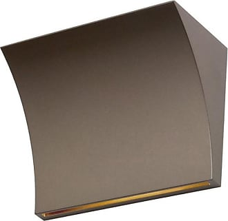FLOS Pochette LED Up/Down Wandleuchte - bronze/LxBxH 20x10x15cm/2700K/1707lm/CRI90