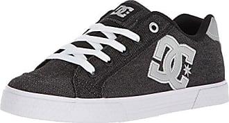 DC Womens Chelsea TX SE Skate Shoe, Black/Anthracite, 5 B US