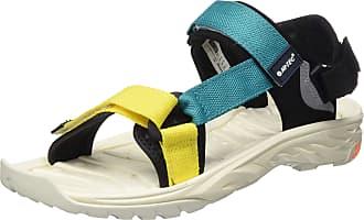 Hi-Tec Mens ULA RAFT Sports Sandals, Yellow (Blazing Yellow/Navigate 079), 12 (46 EU)