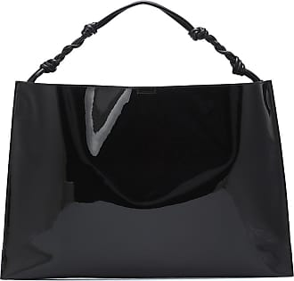 Jil Sander Patent leather shoulder bag
