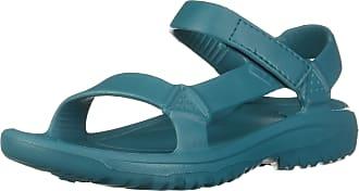 Teva Hurricane Drift Womens Walking Sandals, Teal, UK3