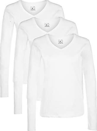 Berydale Damen T-Shirt Mit Rundhalsausschnitt 3er Pack,