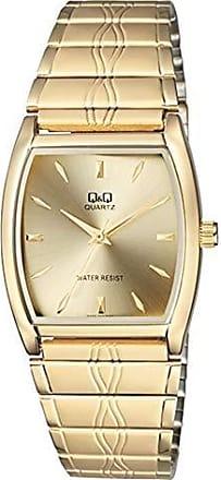 Q&Q Relógio Q&Q Unissex Dourado QA92010Y