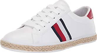 84a7ea6dc Tommy Hilfiger Womens Filip Sneaker, White, 8.5 M US
