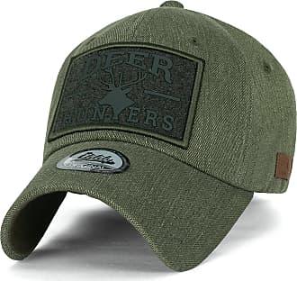 Ililily Deer Hunt Wild Life Logo Baseball Cap Collection, 1604 Olive