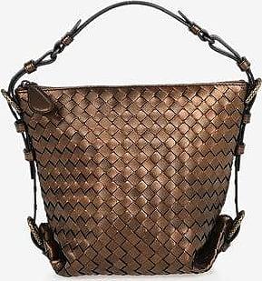 Bottega Veneta Braided Leather Hobo Bag size Unica