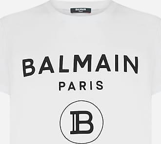 Balmain T-shirt in cotone con logo - BALMAIN - uomo