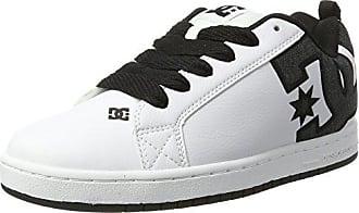 EU Court White Sneakers charcoal 28 5 UK Blanc Graffik Basses DC 5 10 homme Se Rqx1wAPd