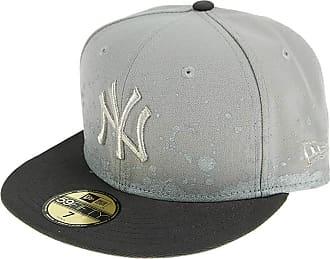 New Era Men Caps/Fitted Cap FL Pannel Splatter New York Yankees 59Fifty Grey 7 1/8-56,8cm