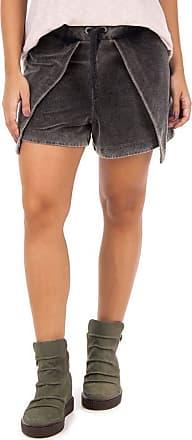 SideWalk Shorts Plush - Preto - Tamanho G