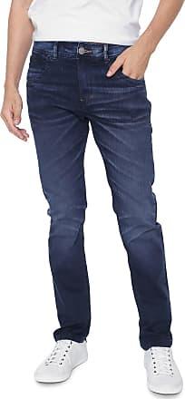 Zune Jeans Calça Jeans Zune Slim Mustache Azul-marinho