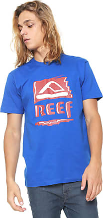 Reef Camiseta Reef Heritage Retrô Azul
