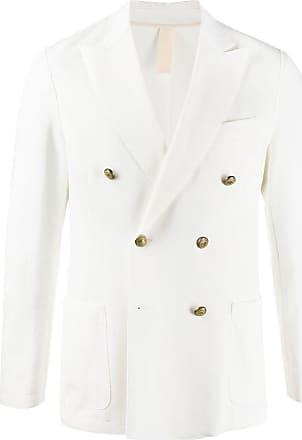 Eleventy double-breasted blazer - White