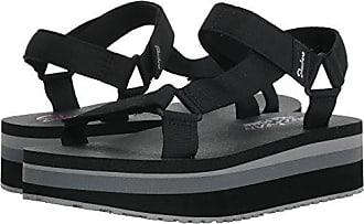 68c5ca08f1fd Skechers Womens Whip IT-Carnivale-Adjustable Slingback Platform Sandal