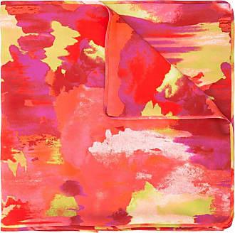 Natori Echarpe estampada - Vermelho