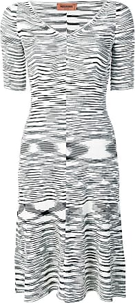 Missoni Vestido de tricô com padronagem abstrata - Preto