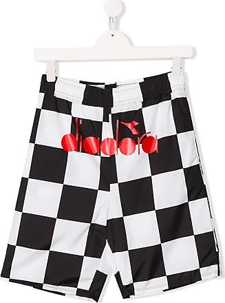 Diadora checkered shorts - Preto