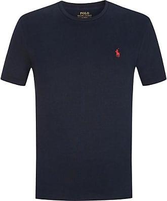 Polo Ralph Lauren T-Shirt Custom Slim Fit Cotton (Blau) - Herren