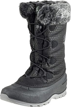 kamik Momentum2, Womens Snow Boots Snow Boots, Black (Black-Noir), 6.5 UK (40 EU)