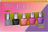 OPI Neons Infinite Shine 5pc Mini Pack