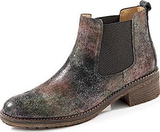 45ff9e5c22ea50 Gabor 91.610-40 Damen Chelsea Boots aus Effektleder mit Lederfutter  Profilsohle