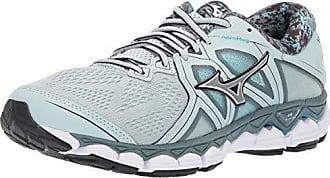df795cb8bcc0 Mizuno Womens Wave Sky 2 Running Shoe Gray-Silver, 7.5 B US