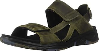 Ecco Mens X-Trinsic Sandal Tarmac Leather 44 M EU (10-10.5 US)