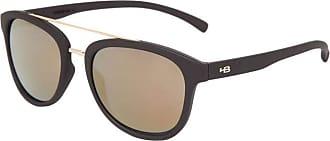 HB Óculos de Sol Hb Moomba Matte Black | Gold Chrome
