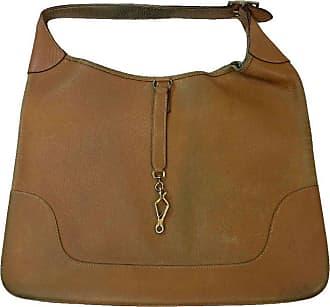 3b9f7558986b Hermès Hermes Vintage Bag Trim Model In Grained Gold Leather