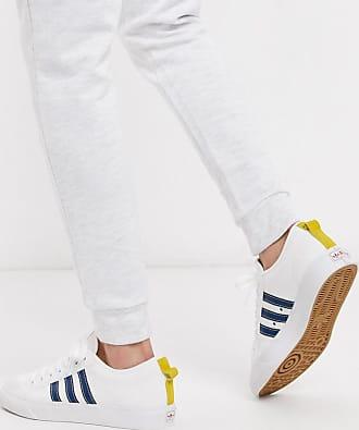 adidas Originals Nizza - Niedrige Sneaker in Weiß