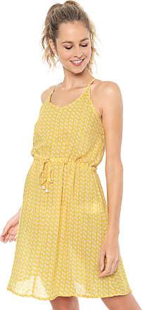 bdf04567d Cia Maritima Vestido CIA.MARITIMA Curto Estampado Amarelo