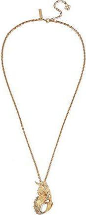Oscar De La Renta Oscar De La Renta Woman Gold-tone Crystal Necklace Gold Size