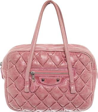 Balenciaga gebraucht - Balenciaga-Handtasche aus Leder in Rosa / Pink - Damen - Leder