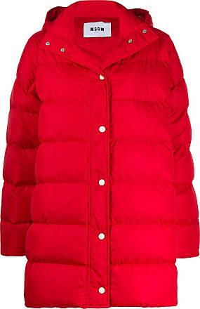 Msgm padded coat - Red