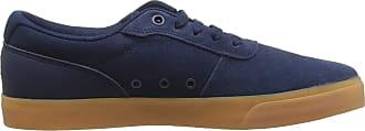 DC Mens Switch Skateboarding Shoes, Blue (Navy/Gum Ngm), 10.5 UK