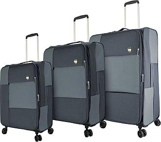 Mia Toro Italy Tena Softside Spinner Luggage 3pc Set,red