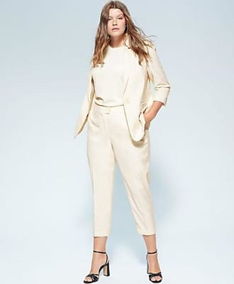 Violeta by Mango Straight suit trousers