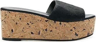 Solange Sandália com plataforma - Preto